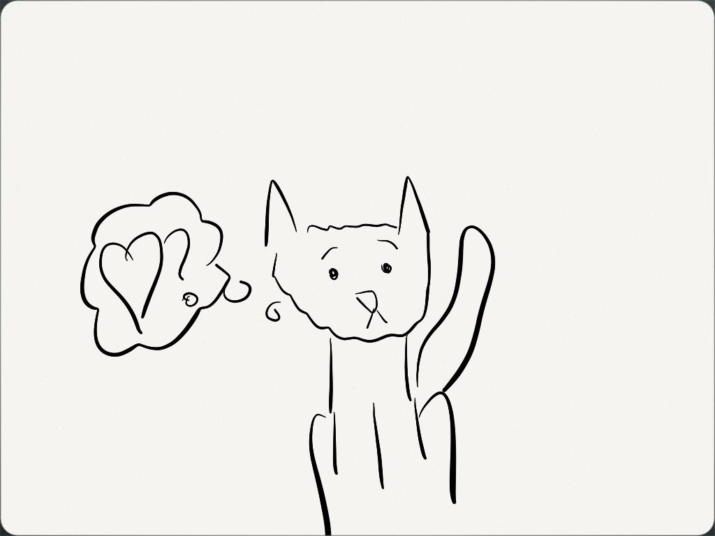 Lovelorn Kitty