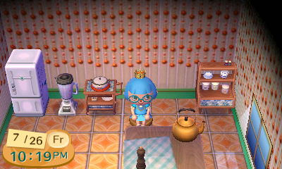 My Animal Crossing kitchen.