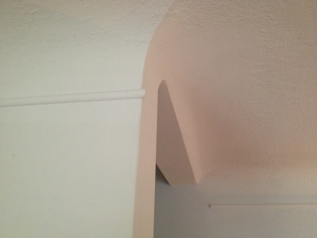 My crown molding.