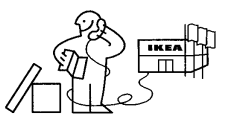 Hahahaha I'm sorry but I couldn't help myself. This image at the end of every Ikea instruction manual always cracks me up.